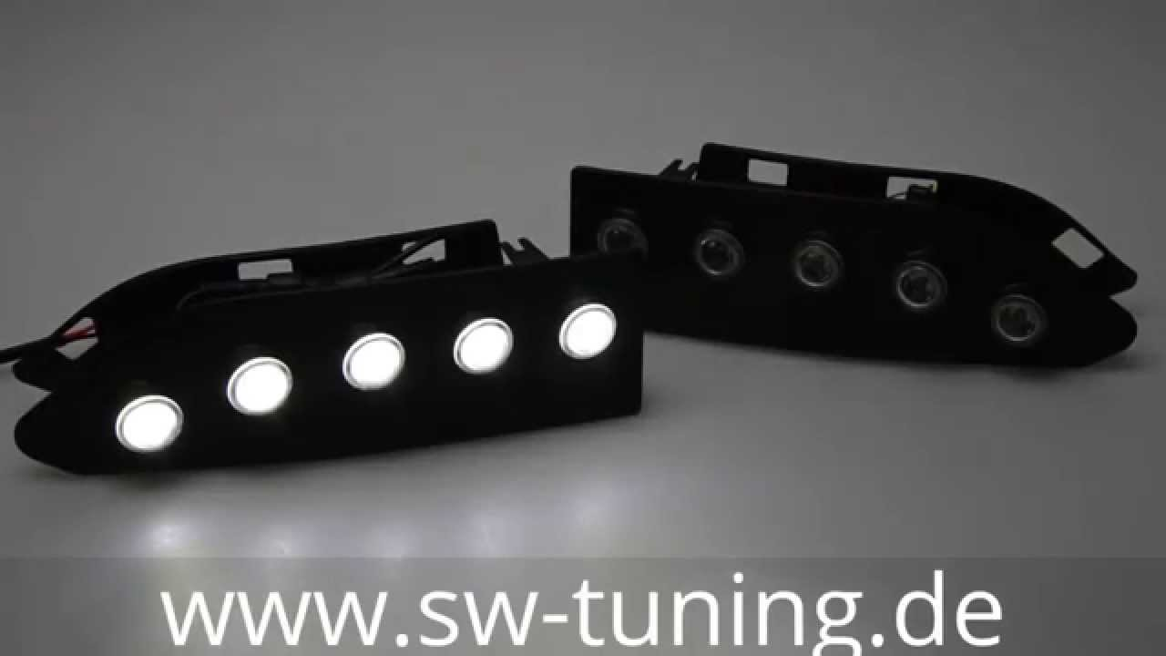 sw drl led tagfahrlicht r87 nissan qashqai 10 13 sw tuning. Black Bedroom Furniture Sets. Home Design Ideas