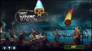Ghost Riding 3D - Arcade - Motorcycle Trial - Ghost Rider - Android Gameplay