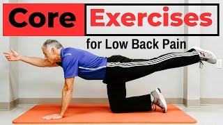 7 Simple Core Exercises That PREVENT Low Back Pain screenshot 2