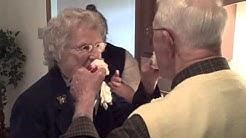 Grandparents 65th Wedding Anniversary - Cake.AVI