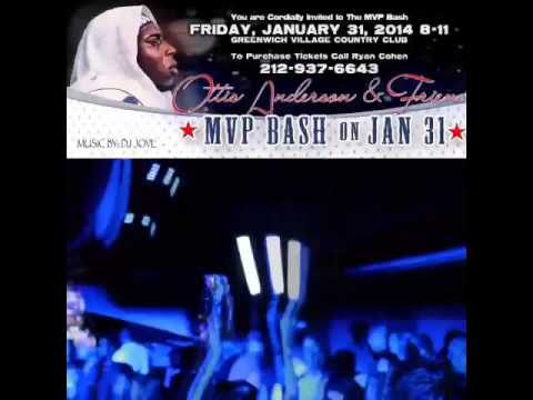 DJ JOVE rocking the Ottis Anderson MVP Bash Promo Greenwich Village Country Club 1.31.14