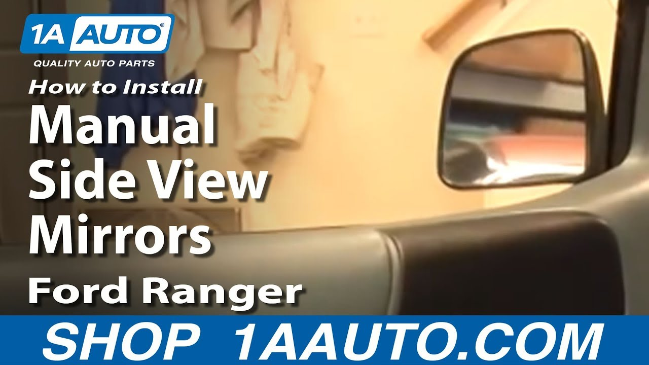 how to replace mirror 93-97 ford ranger