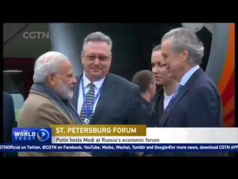 Chinese Media On Narendra Modi - Indian PM discusses Nuclear Power Deal In Russia