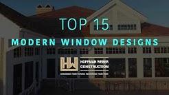 Top 15 Modern Home Window Designs