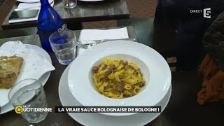 La vraie sauce bolognaise de Bologne !