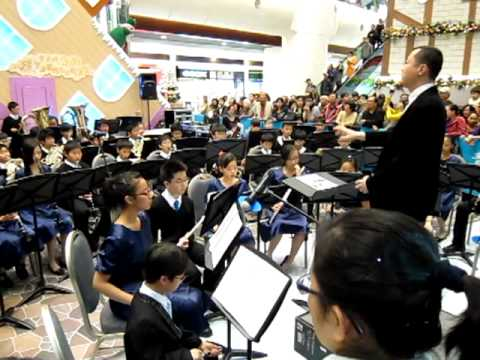 Centuria (Overture for Band) by Hong Kong Children Symphonic Band @ Maritime Square - 20101211