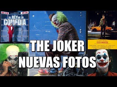 THE JOKER - NOVEDADES - JOAQUIN PHOENIX - IMÁGENES - TAXI DRIVER - WARNER - EL REY DE LA COMEDIA