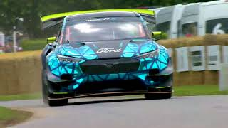 GoodWood Festival of Speed – Ford Mustang Mach-E 1400   Ford Italia