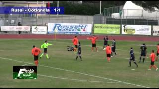 Russi vs Cotignola 1 1 da Fischio Finale by Teleromagna