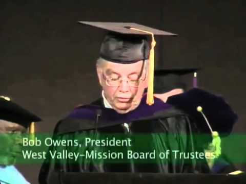 West Valley College 44th Annual Commencement Ceremony - May 23, 2008