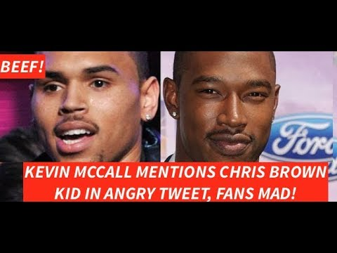 Kevin Mccall FLEXES on Chris Brown with HARSH WORDS after he was attacked in Watts, OUT OF POCKET!