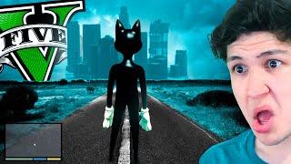 Jugando como CARTOON CAT en GTA 5! (Mods)