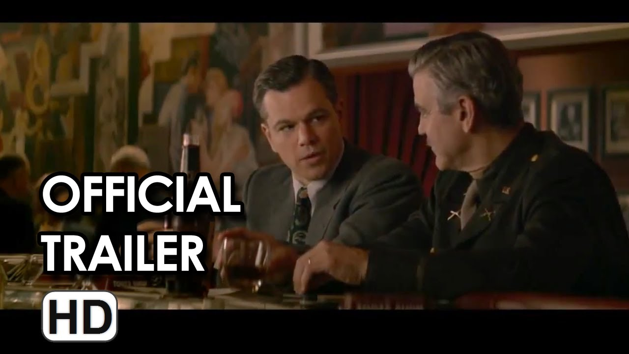 Download The Monuments Men Official Trailer #2 (2014) - George Clooney, Matt Damon