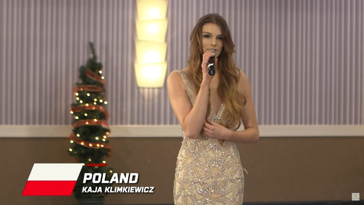 Poland, Kaja Klimkiewicz - Top 10 Talent: Miss World 2016