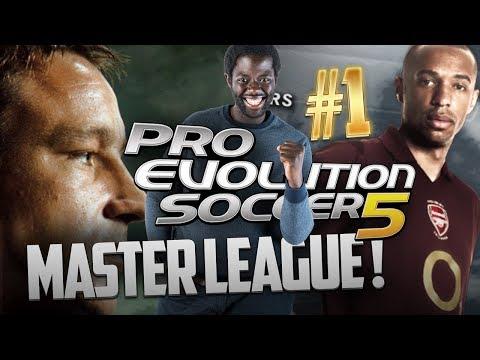 PES 5 - RÉTRO MASTER LEAGUE #1