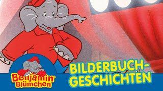 Benjamin Blümchen und die Zirkuslöwen BILDERBUCH GESCHICHTEN