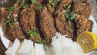 How To Deep Fried Rock Cod Fish | Deep Fry Pescado Bacalao | Punjabi Style Fry Fish Recipe