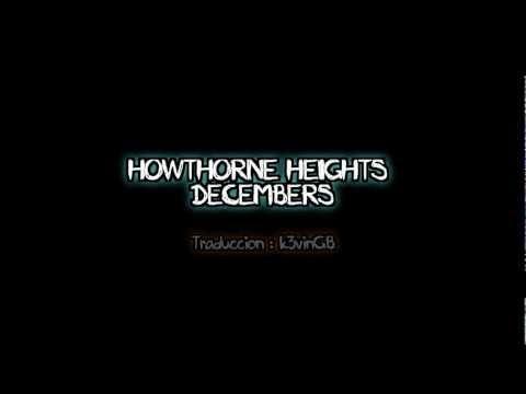 Hawthorne Heights - Decembers (en español)