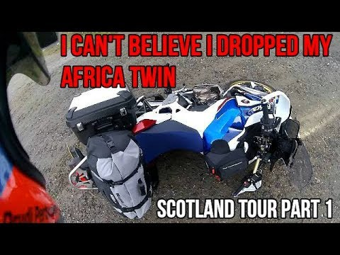 I can't believe I dropped my Africa Twin / Scotland tour ...