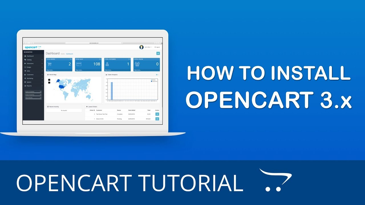 How to Install OpenCart 3 x for Beginners