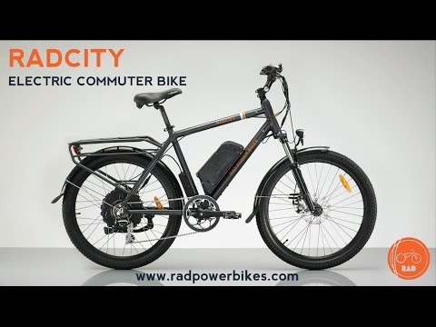 2017 radcity electric commuter bike from rad power bikes. Black Bedroom Furniture Sets. Home Design Ideas
