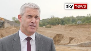 Brexit secretary Stephen Barclay stresses the need for more no-deal Brexit planning