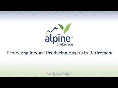 Protecting Income Producing Assets In Retirement