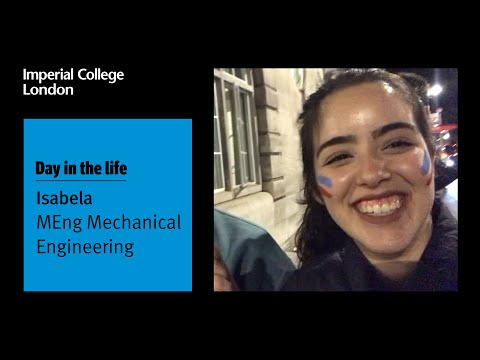 Isabela's First Week At Imperial College London