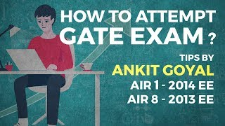 How To Attempt Gate Exam By Ankit Goyal (air 1 - Gate 2014 Ee)
