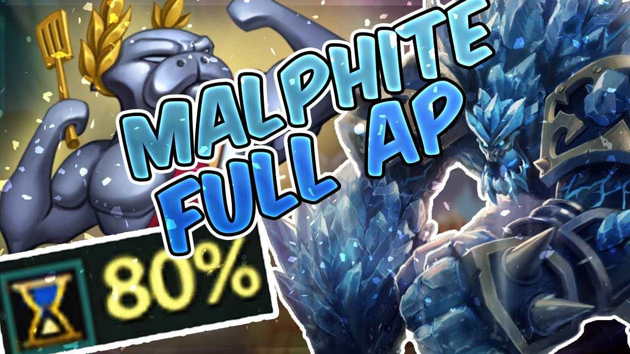Urf 2020 Christmas MALPHITE FULL AP URF 2017 BATTLE SNOW   Ultra Rapid Fire MALPHITE