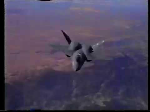 yf23 Northrop-McDonnell Douglas test pilot Paul Metz Comments on experimental fighter