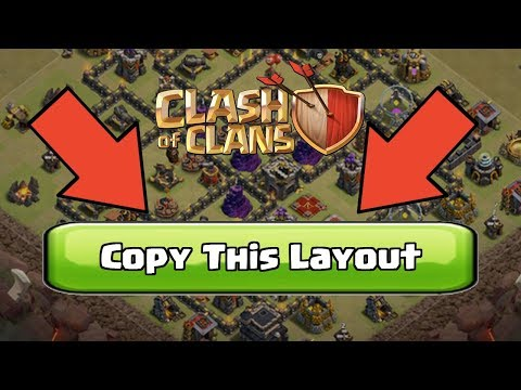(Recommend)How To Copy And Paste Other's Layout In Coc