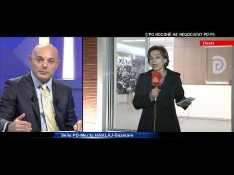 Opinion - C'po ndodh me negociatat PD-PS?; Ramush Haradinaj! (16 maj 2017)