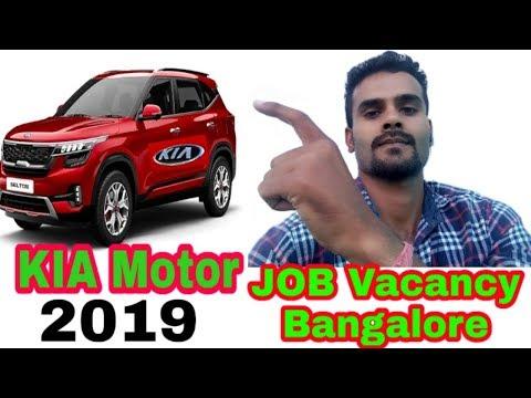 JOBS VACANCY IN KIA MOTORS 2019