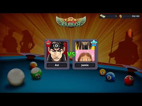 Ball potted 8time and wining a game simply in cairo casba