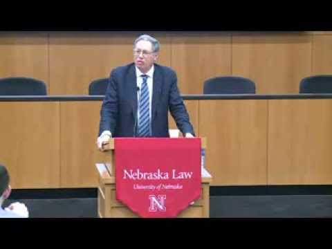 UNL College of Law Pound Lecture Series 2014 | Richard Epstein