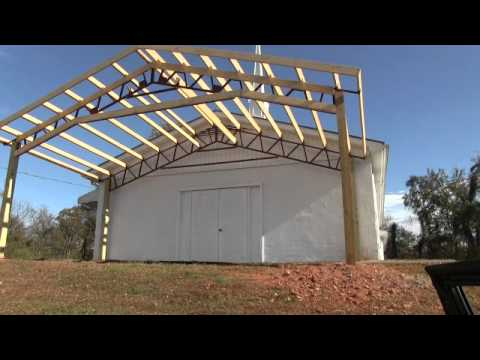 Steel Trusses Church Shelters And Carport Kits AMERICAN