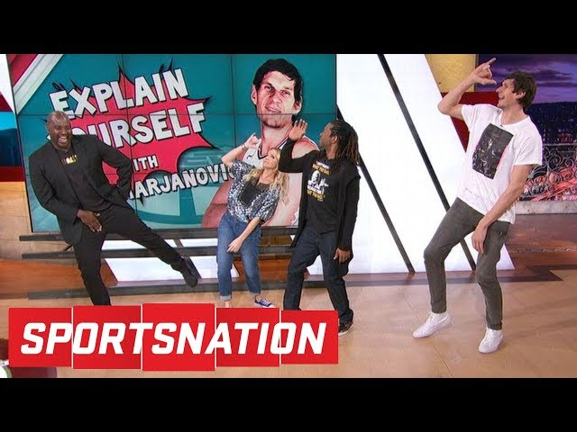 Boban Marjanovic teaches the SportsNation crew how to dance | SportsNation | ESPN