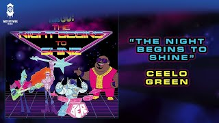 ceelo green   the night begins to shine   teen titans go official