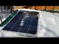 Cabin Life - My 100 watt solar setup