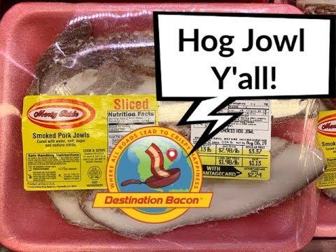 Smoked Hog Jowl
