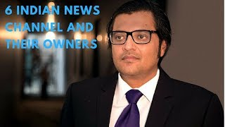 6 INDIAN NEWS CHANNELS & THEIR OWNERS | Indian News Channel Owner | Dailyat8