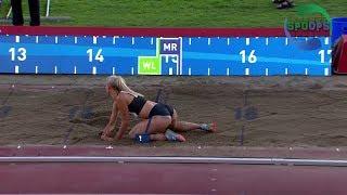 Oslo bislett games 2018 | triple jump women | highlights | ᴴᴰ