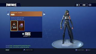 """Fortnite: How To Get """"FATE"""" Skin For FREE (Fortnite Daily Items July 26th) How To Get Free V-Bucks"""