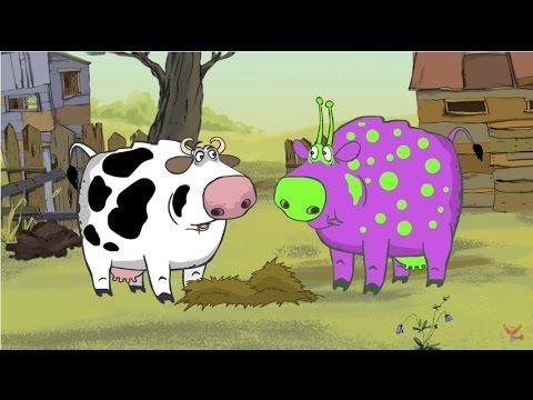 Мультфильм про свинью и инопланетян