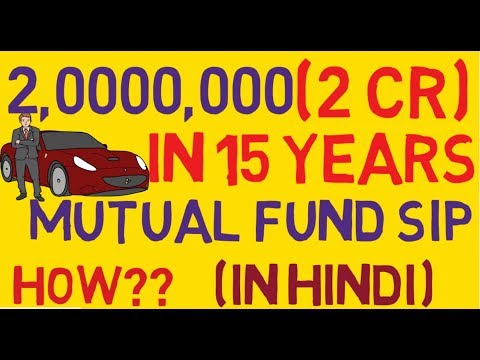 Get 2 CR in 15 years how to invest in sip mutual funds