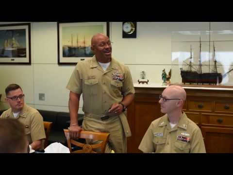 All Hands Update: US Naval Forces Europe Sailor of the Year
