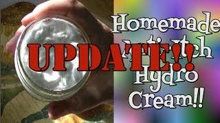 UPDATE!  Homemade Hydro Cream  Noreen's Kitchen