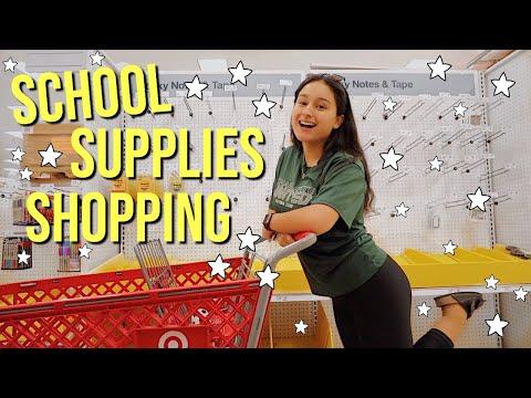 SCHOOL SUPPLIES SHOPPING 2019