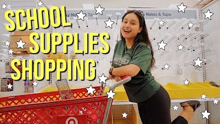 SCHOOL SUPPLIES SHOPPING 2019